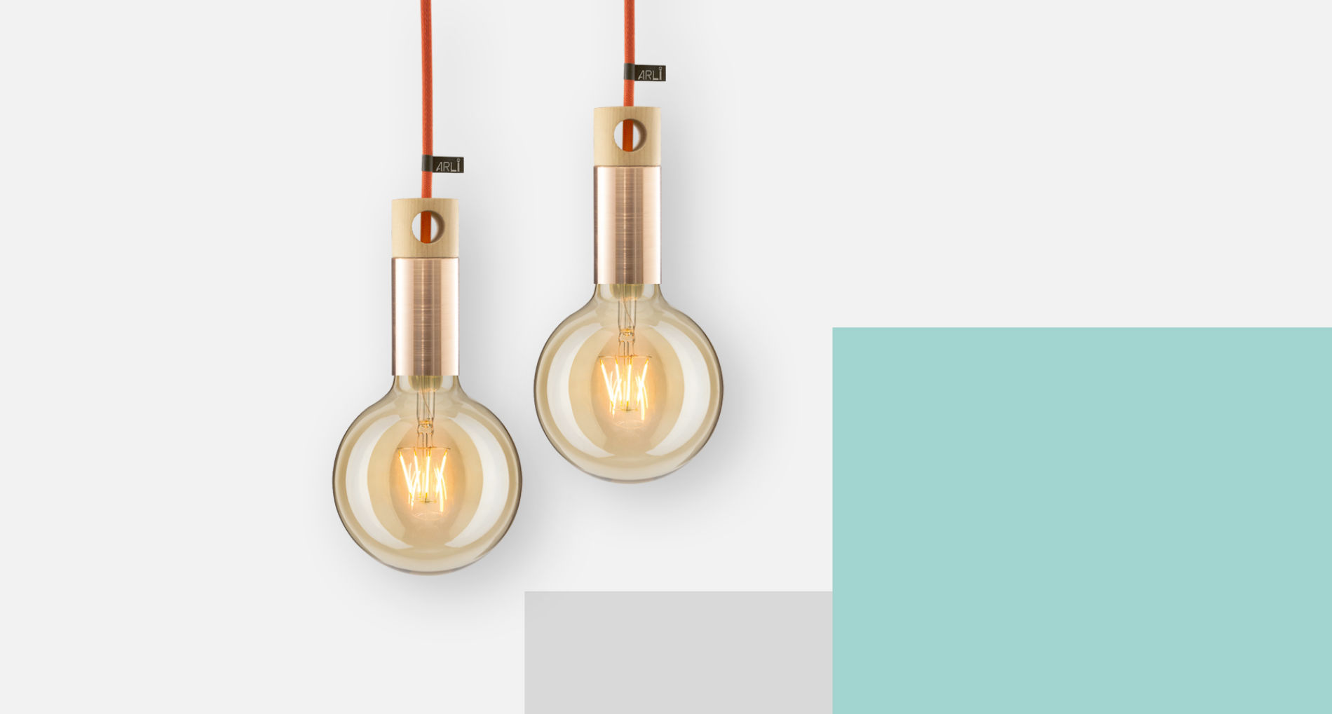 Pendant lights ARLI Copper