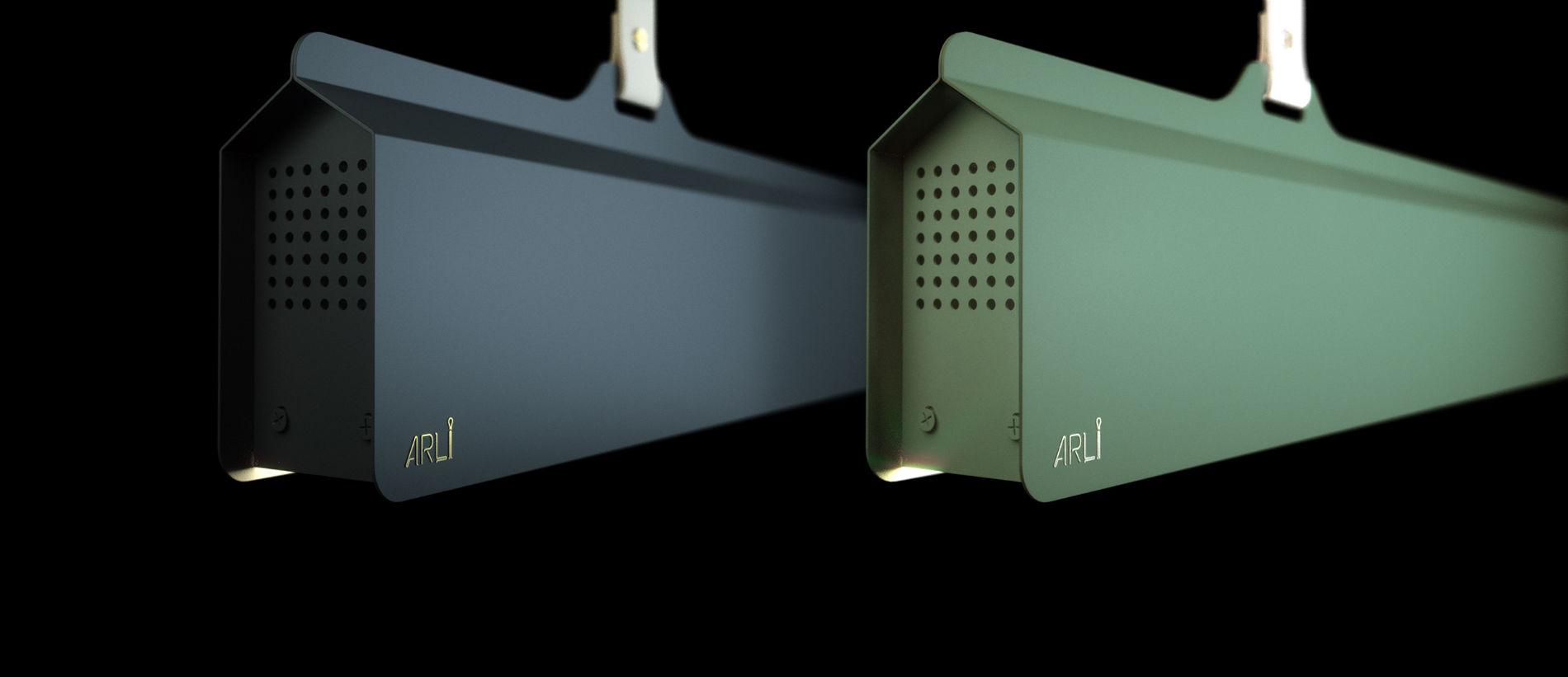 Svietidlá ARLI NO6 s farebným káblom