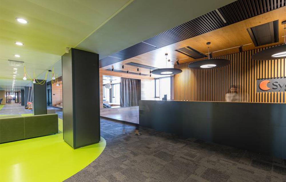 dizajn kancelárie Sygic