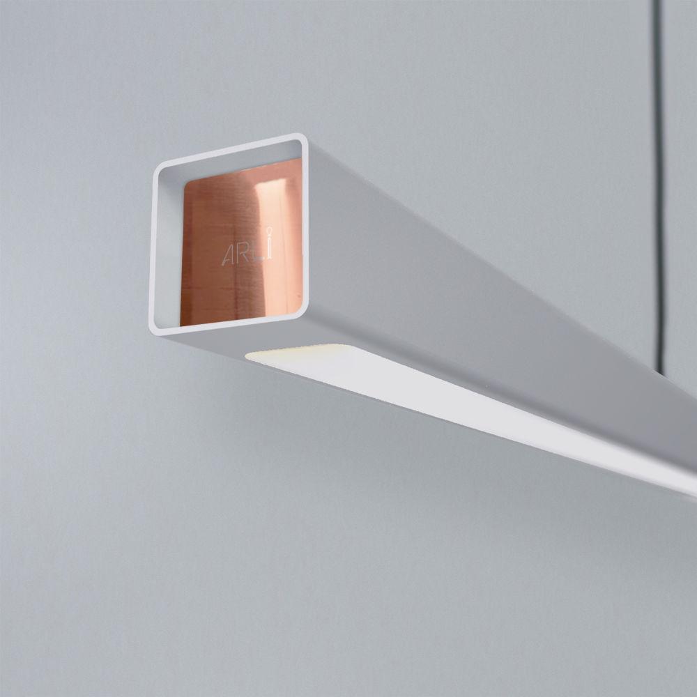 Dizajnové svietidlá ARLI geminy s farebným káblom