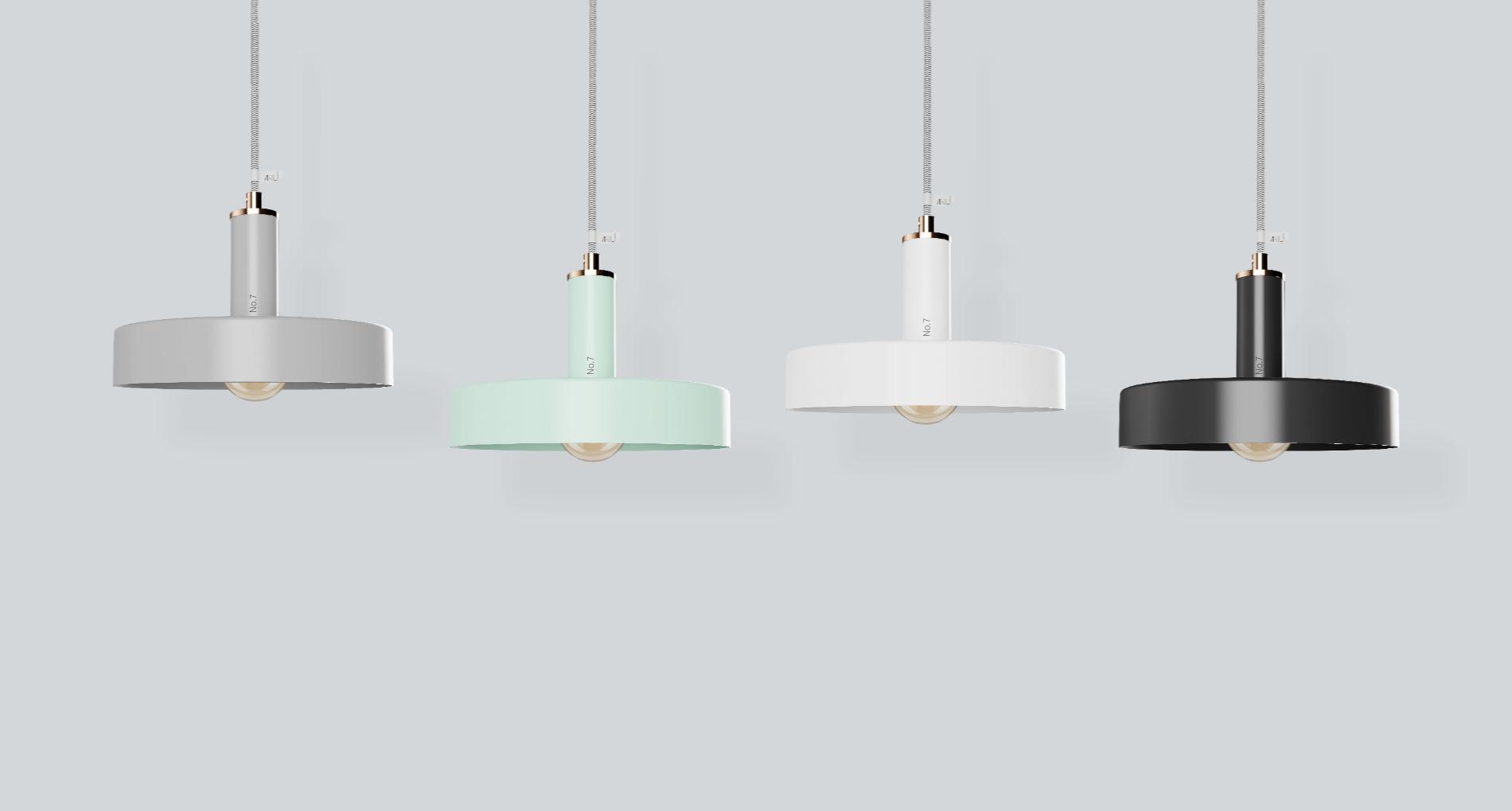 Zavesne dizajnové svietidlo ARLI No7